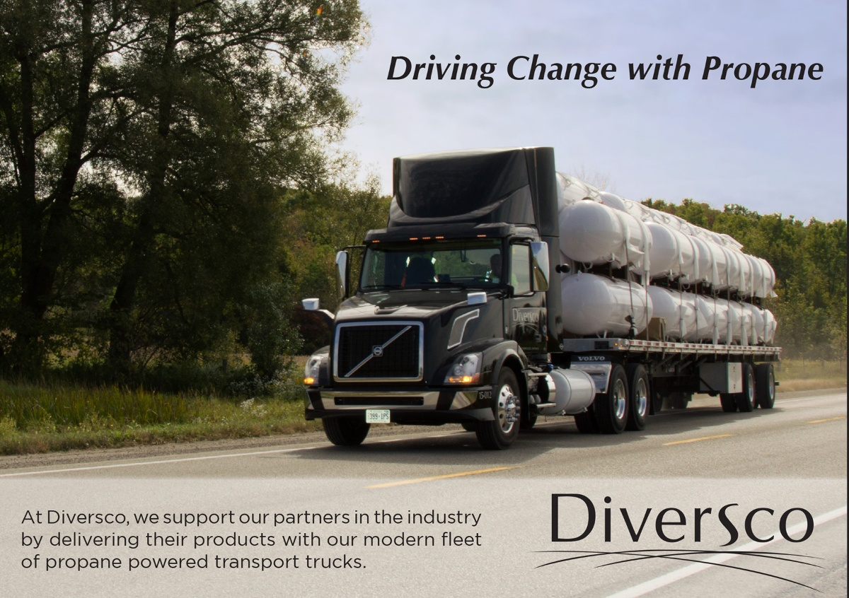 Diversco is driving change with propane