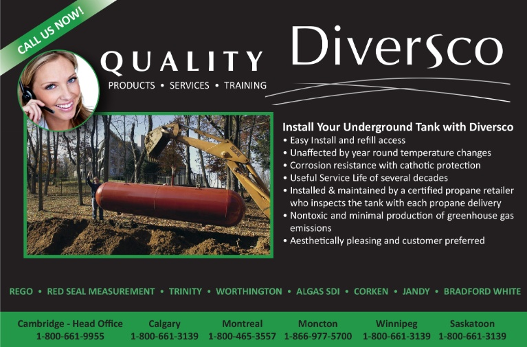Install Your Underground Tank With Diversco