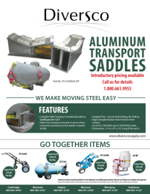 Aluminum Transport Saddles