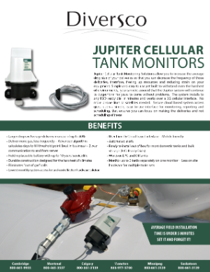 Jupiter Cellular Tank Monitors