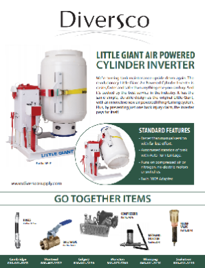 Little Giant Air Powered Cylinder Inverter