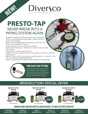 Presto-Tap Leak Detection System